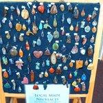 Handmade gemstone pendants!