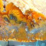 Graveyard Point Plume Agate from Oregon