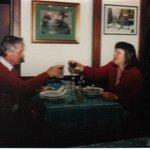 Dinner at Roberto al Passetto di Borgo 1994