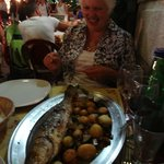A very tasty well prepared whole fish at