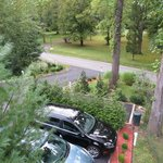 View From Our Deck Looking Towards The Parking Area & Street