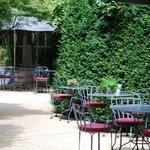 Courtyard and garden