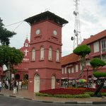 Dutch Square -  Tang Beng Swee Clock Tower was built in 1886.