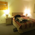 second bedroom of family suite