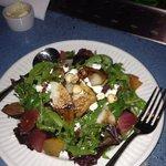 beet pear salad