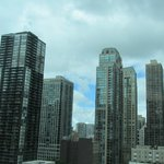 View of Chicago from the room