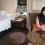 Clean bedroom, nice atmosphere