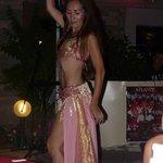 Belly dancer at Turkish night