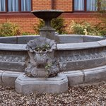The original fountain from our reception area at the Brook Hotel Norwich