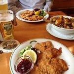 Beer and Schnitzel!