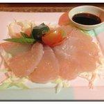 Sashimi of spanish Mackarel