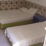 Beds. Room 104.