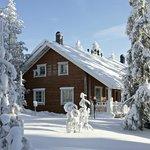 Ounasvaaran Lakituvat in winter
