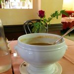 Soupe de Poisson served from the tureen