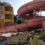The slide at The Rosy