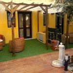 Private garden of Junior suite