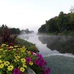 Au petit matin au bord de l'Aulne