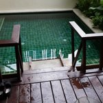 Plunge Pool outside the room