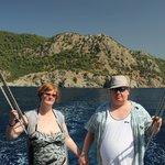 boat Trip Mary & Tony