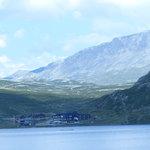 Bergsjøstølen 1100 moh ved foten av Reineskarvet
