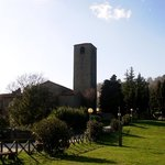 Veduta del campanile dalla Fraschetta