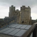 Belsay Castle - up on the roof