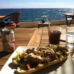 Great lunch; tuna sandwich