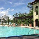 Poolside!