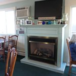 Welcoming Fire Place