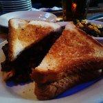 Maine Size Sloppy Joe Sandwich