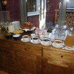 Buffet du petit déjeuner- Croissants succulents!