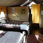 Stanlye's Kopje - Interior of Tent