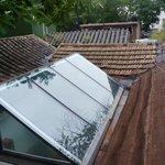 屋上テラスから  from the roof top terrace