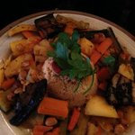 Vegetarian Delights cous cous