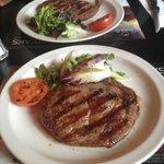 Twee steaks