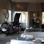 """""""exercise room"""" in our hotel room, which jaccuzzi tub"""