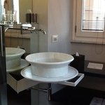 Cool bathroom - this is one of two sinks