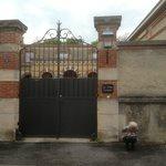 Front gates.