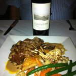 Lamb Chops With Sherry Green Peppercorn Sauce~