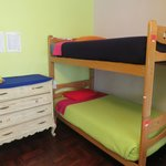 Four-Girl Dorm Furnishings