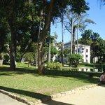 Parque do Museu da República (foto 2), em frente ao Imperial Hotel
