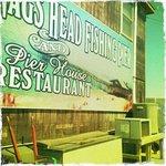 Nags Head Pier Restaurant sign
