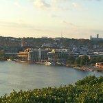Rooftop terrace views4 (looking toward Washington Harbour - Georgetown)
