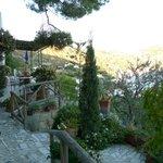 Gartenbereich der Casa Sofia