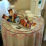 Bedroom  - Complimentary tea tray