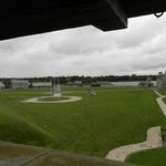 View of Fort grounds and buildings