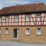 typisch huis in Noordfrankenland