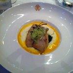 seafood dish with amazing presentation