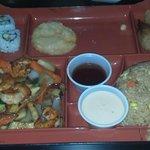 Shrimp Bento Box YUMMY