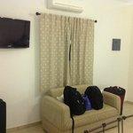 Apartamento confortável e com muito boa vedação acústica e térmica
